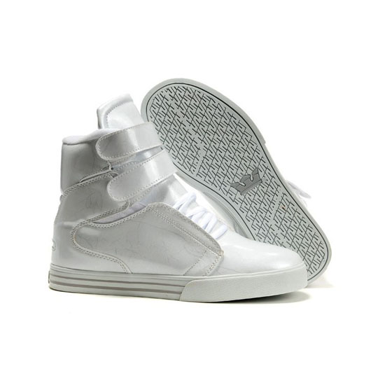 Supra Tk Society Footwear Cream White Grey