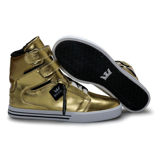 Supra Tk Society Footwear Gold White Black