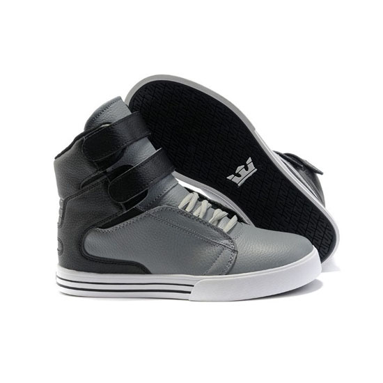 Supra Tk Society Footwear Grey Black White