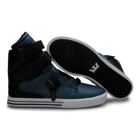 Supra Tk Society Footwear Nary Black White