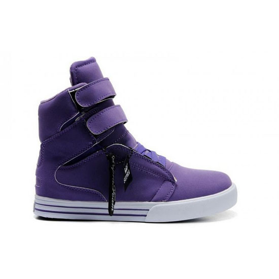 Supra Tk Society Footwear Purple White