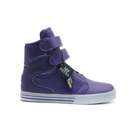 Supra Tk Society Footwear Purple White Purple