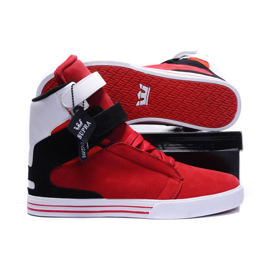 Supra Tk Society Footwear Red Black White