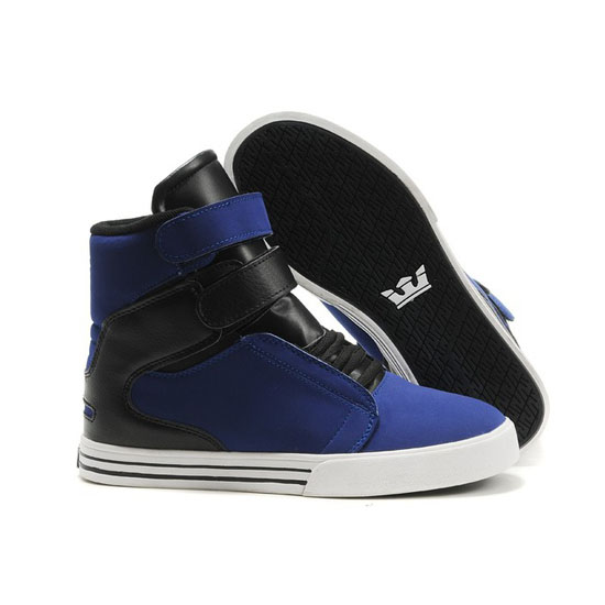 Supra Tk Society Footwear Royal Black White