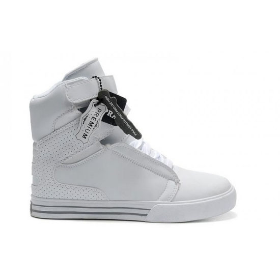 Supra Tk Society Footwear White White Grey