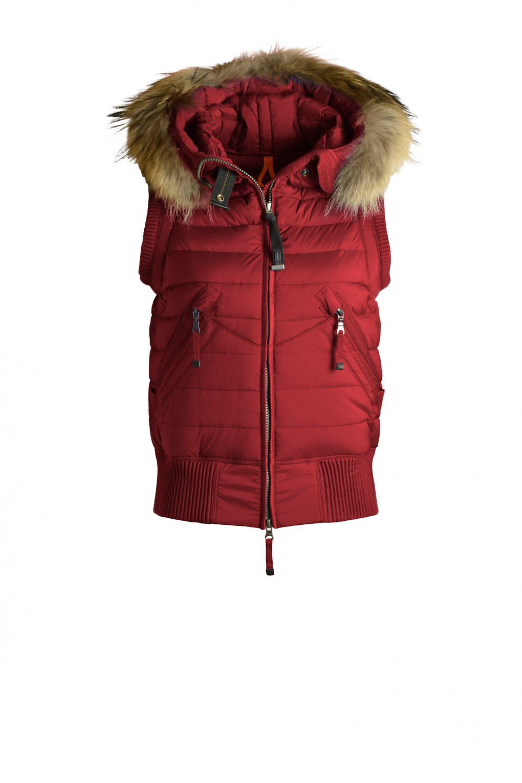 parajumpers BEAR VEST woman outerwear Red