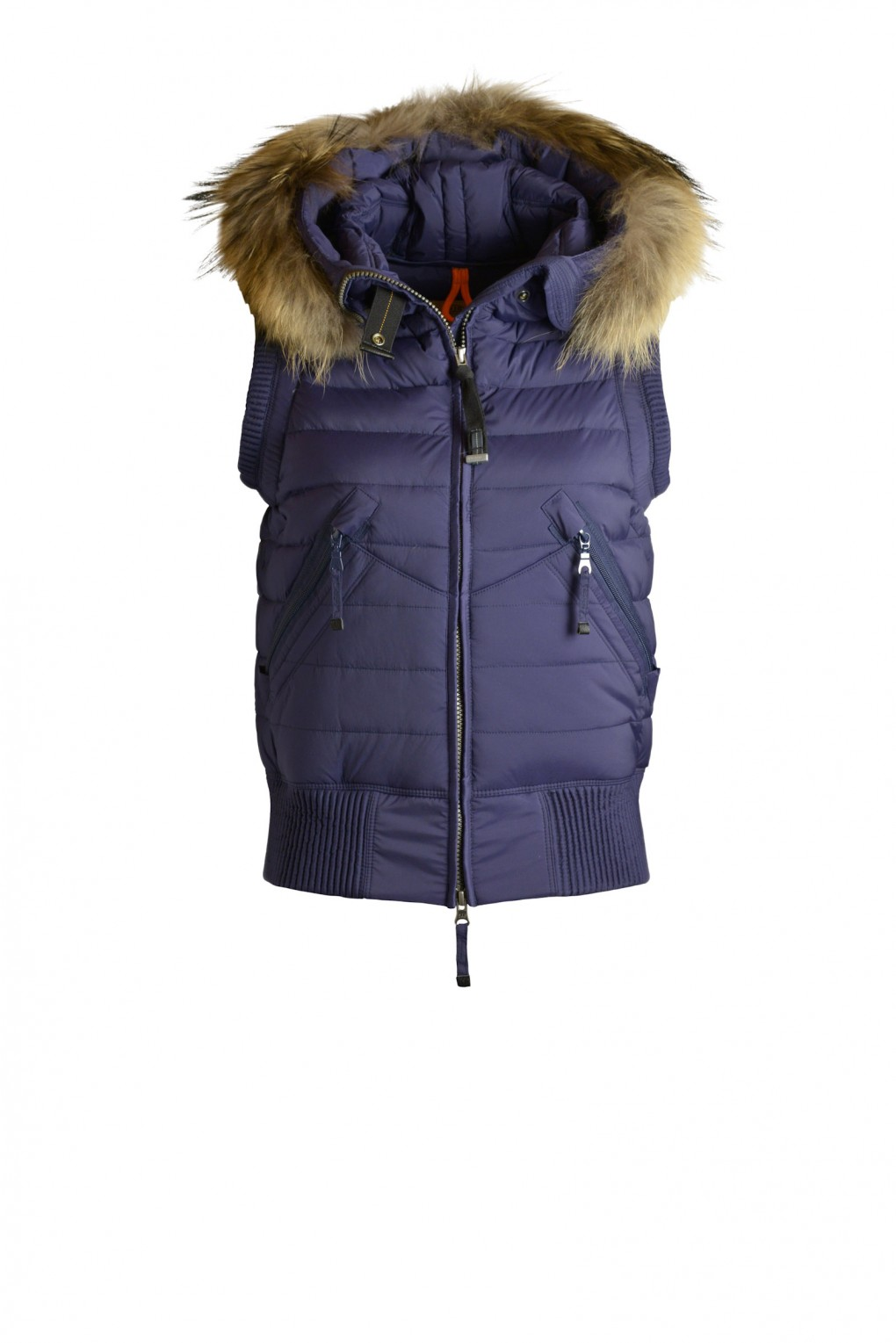 parajumpers BEAR VEST woman outerwear Prussian Blue