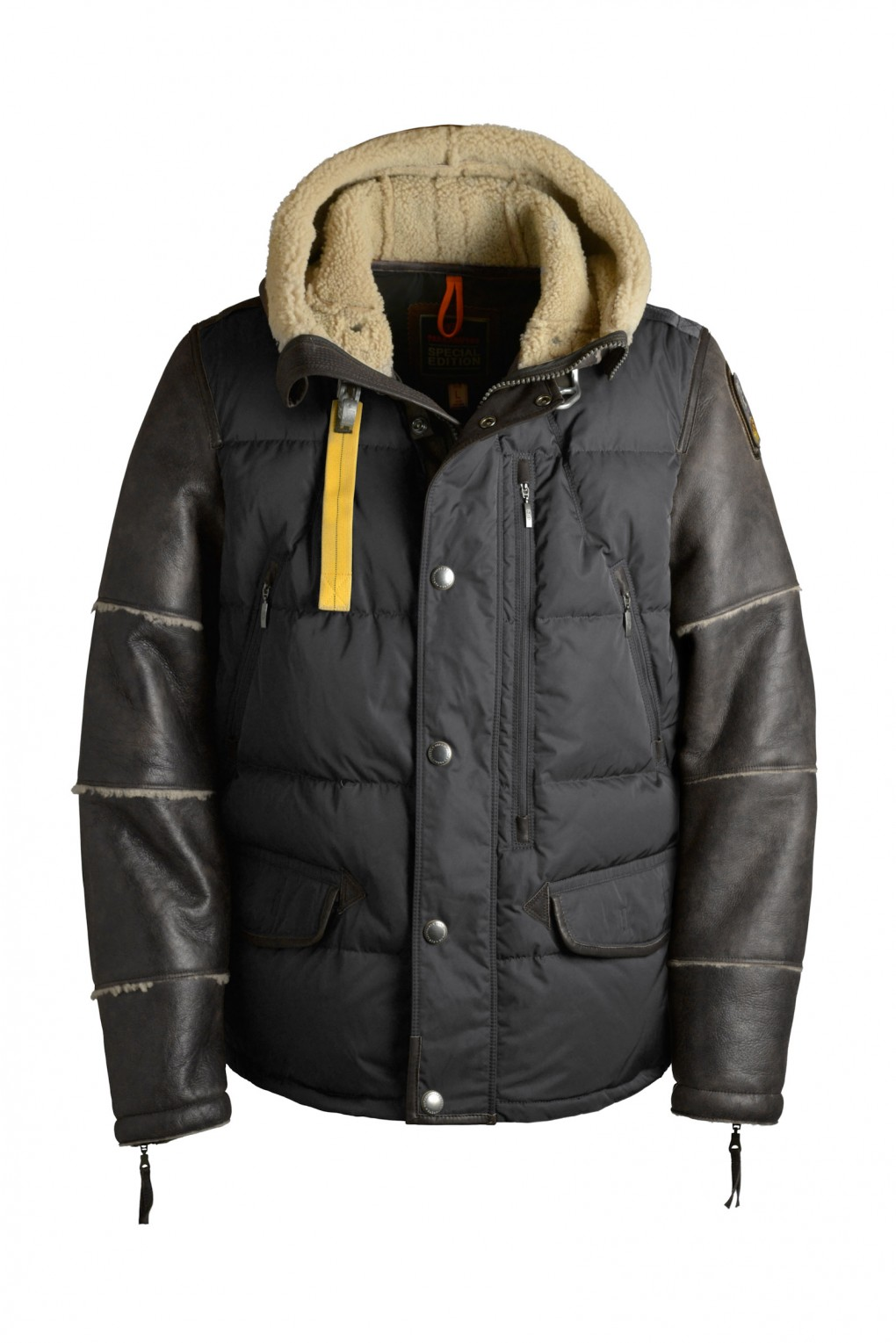 parajumpers GAMBLE SPECIAL man outerwear Asphalt