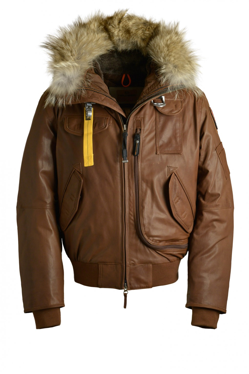 parajumpers GOBI LEATHER man outerwear Brown