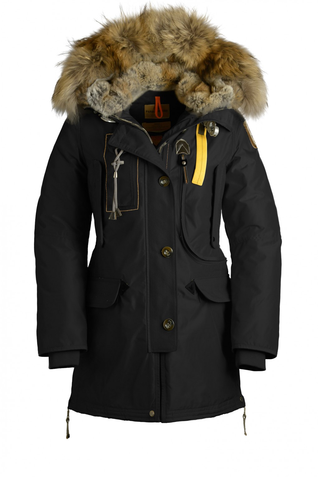 parajumpers KODIAK woman outerwear Black