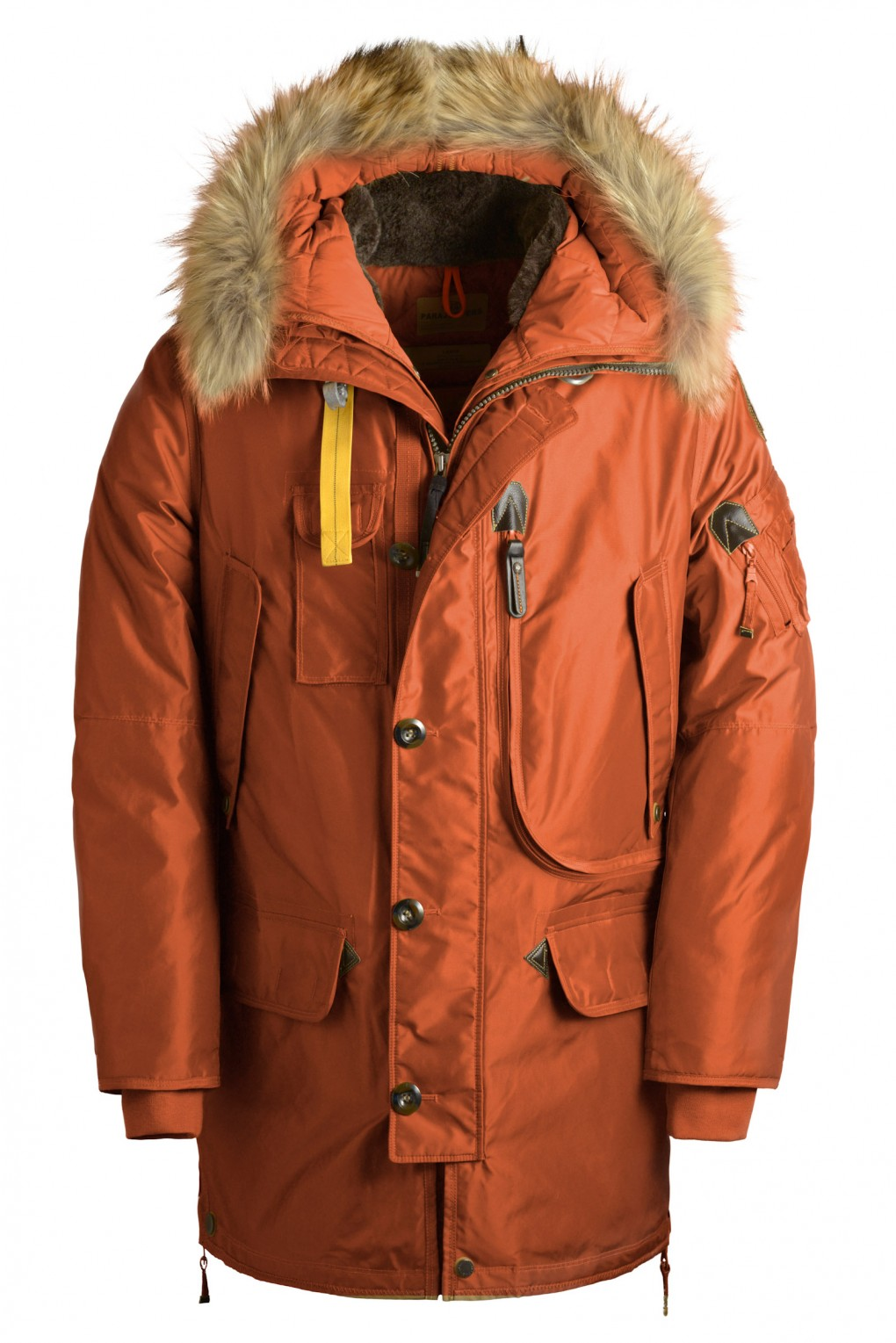 parajumpers KODIAK man outerwear Rust