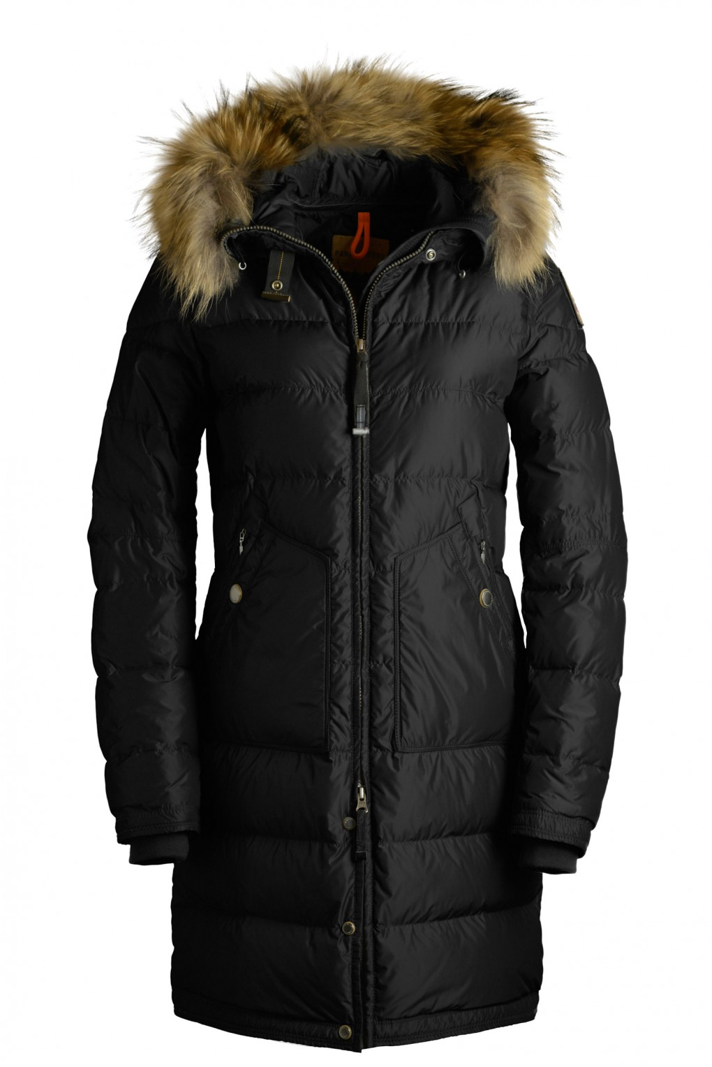 parajumpers LIGHT LONG BEAR woman outerwear Black
