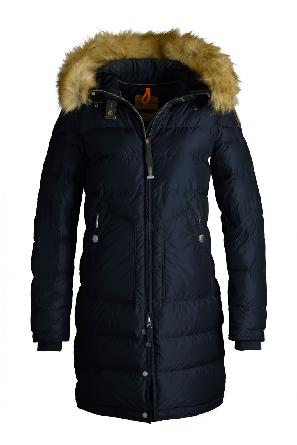 parajumpers LIGHT LONG BEAR ECO woman outerwear Navy