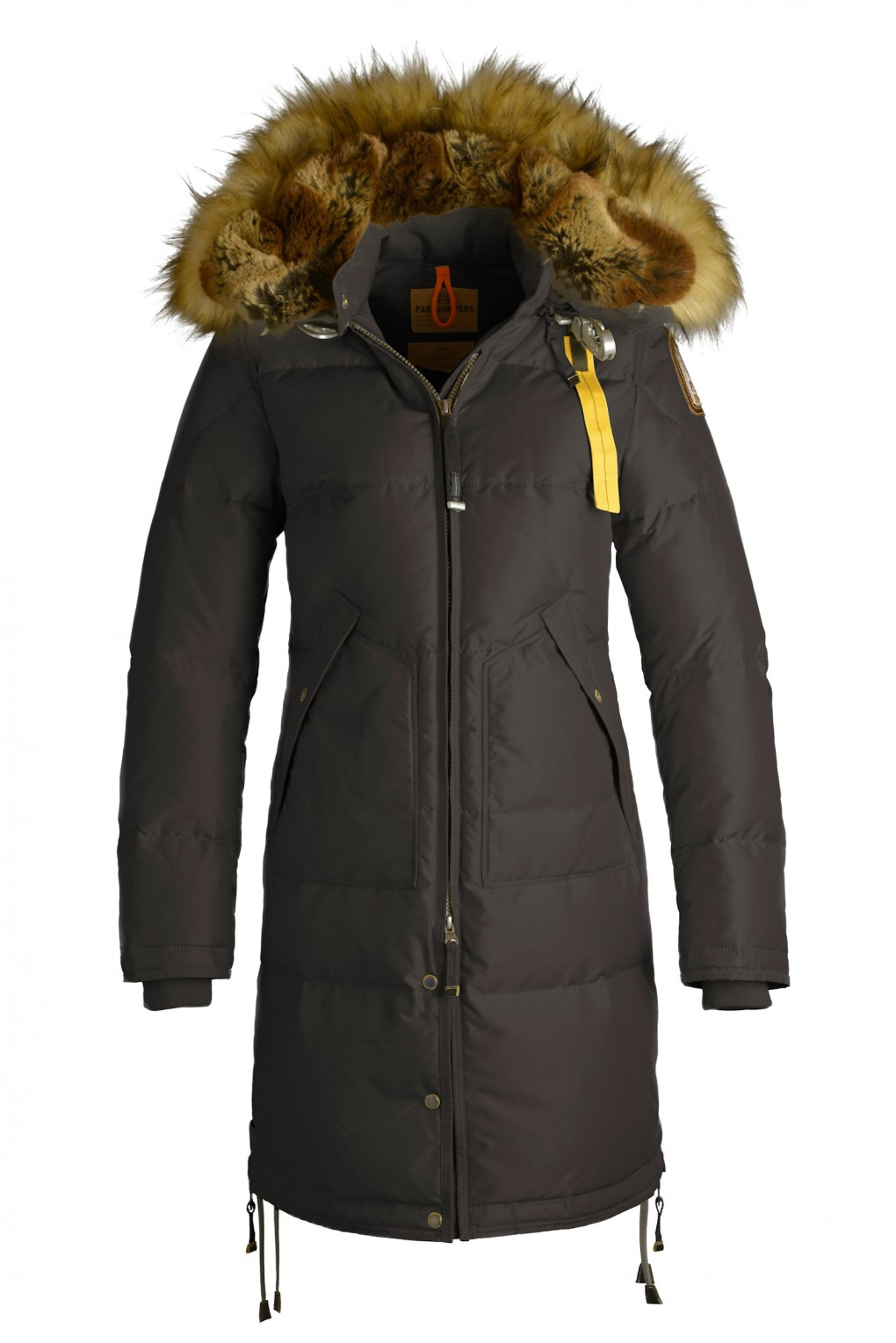 parajumpers LONG BEAR ECO woman outerwear Brown
