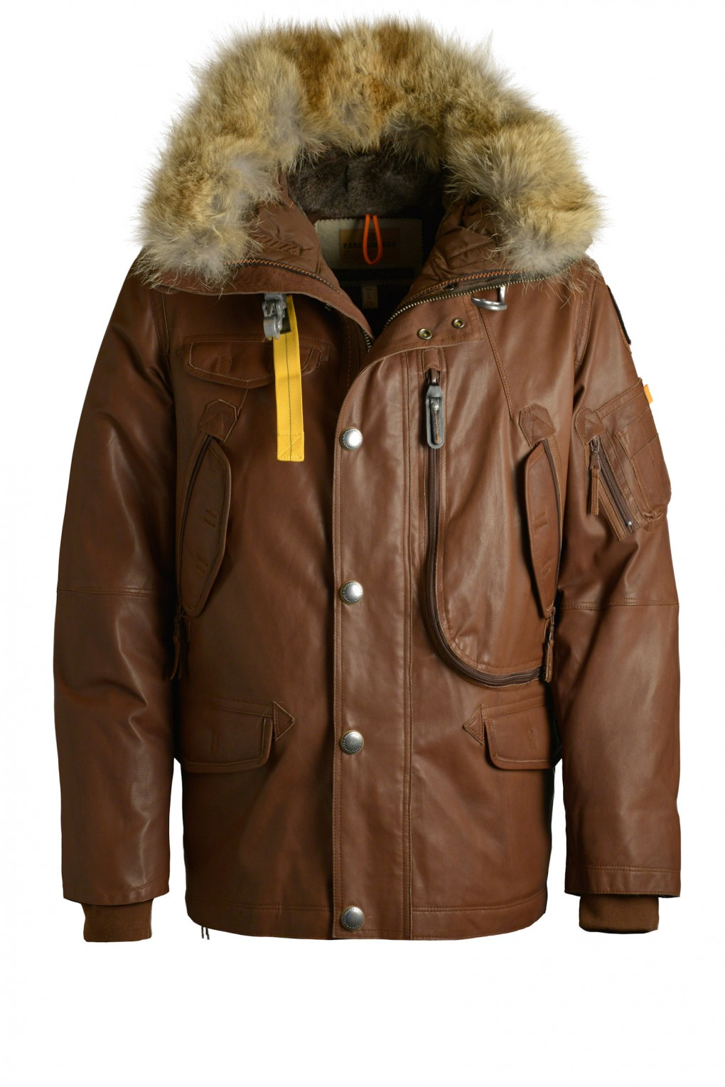 parajumpers RIGHT HAND LEATHER man outerwear Brown
