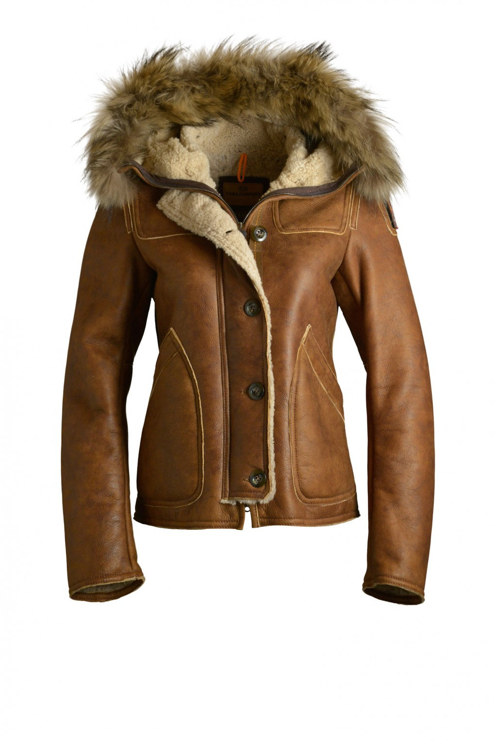 parajumpers VANCOUVER woman outerwear Brown