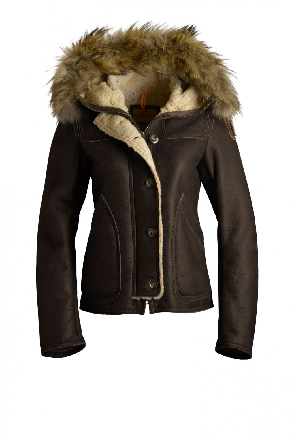 parajumpers VANCOUVER woman outerwear Chestnut