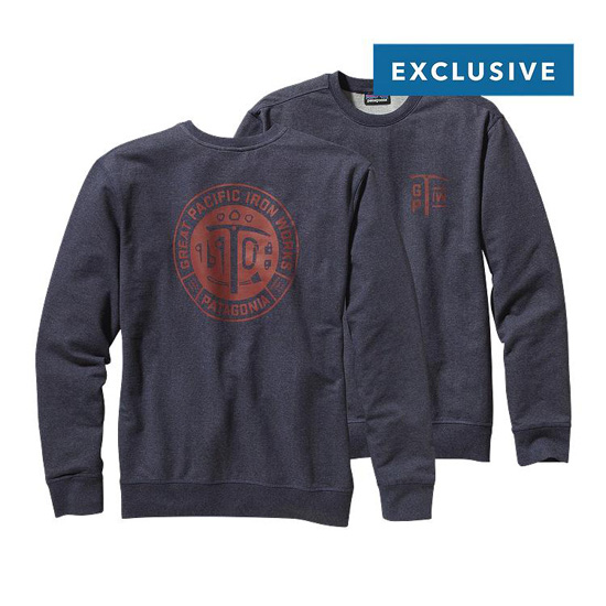 PATAGONIA MEN'S GPIW EQUIPMENT MIDWEIGHT CREW SWEATSHIRT