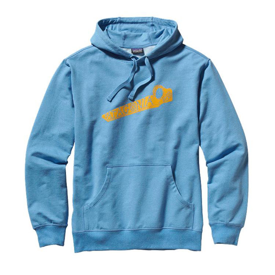 PATAGONIA MEN'S KEEP ON PITON MIDWEIGHT HOODED SWEATSHIRT
