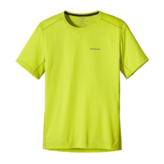 PATAGONIA MEN'S SHORT-SLEEVED FORE RUNNER SHIRT