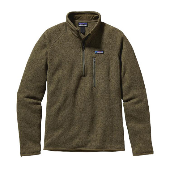 PATAGONIA MEN'S BETTER SWEATER® FLEECE 1/8-ZIP