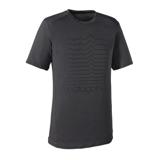PATAGONIA MEN'S MERINO 1 SILKWEIGHT GRAPHIC T-SHIRT