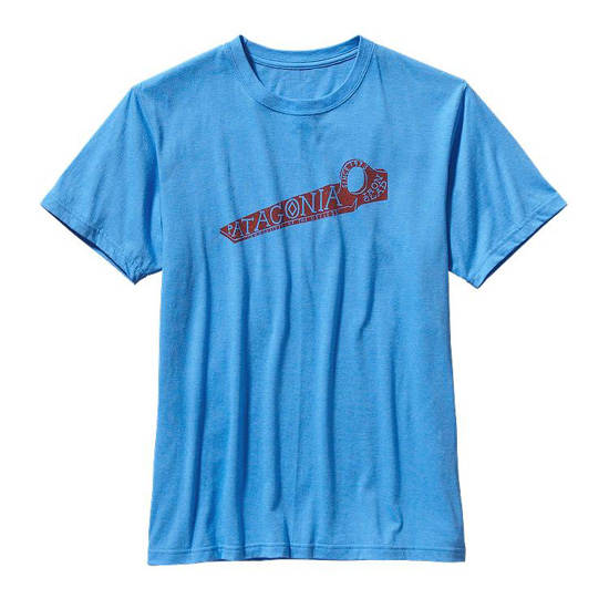 PATAGONIA MEN'S KEEP ON PITON COTTON/POLY T-SHIRT