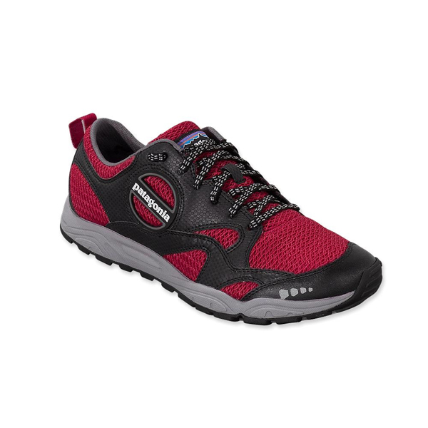 Patagonia Men's EVERmore Shoe Black w/Red Delicious