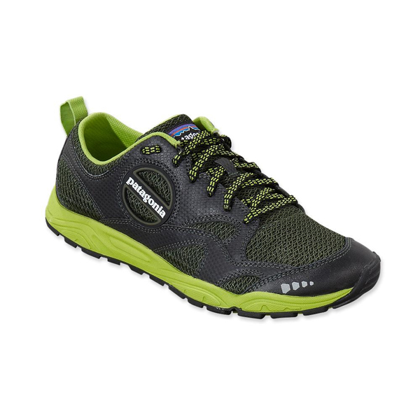 Patagonia Men's EVERmore Shoe Black w/Urbanist Green
