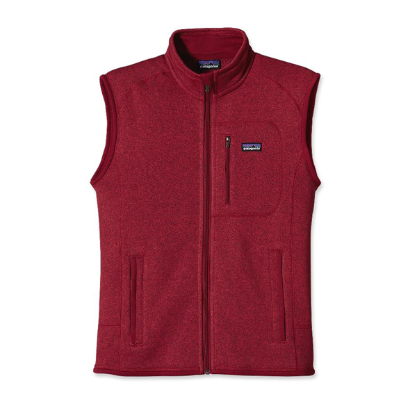 Patagonia Men's Better Sweater™ Vest Wax Red