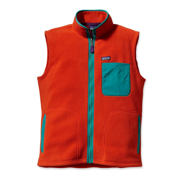 Patagonia Men's Karstens Vest Eclectic Orange
