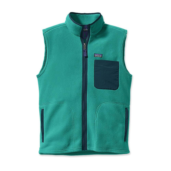 Patagonia Men's Karstens Vest Teal Green