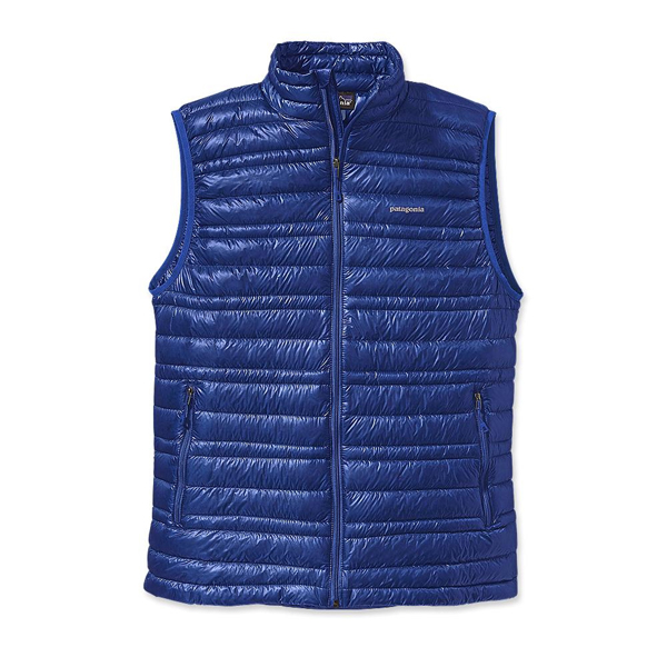 Patagonia Men's Ultralight Down Vest Viking Blue