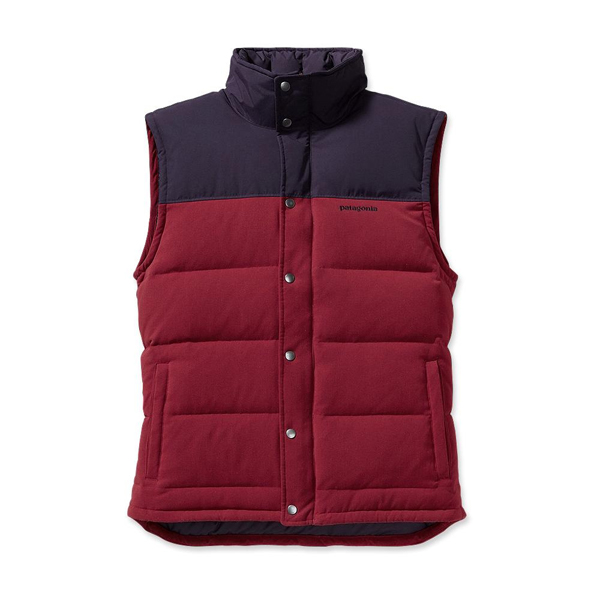 Patagonia Men's Bivy Down Vest Wax Red