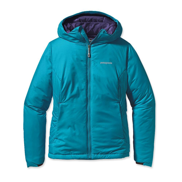 Patagonia Women's Micro Puff Hoody Curacao w/Blue Butterfly