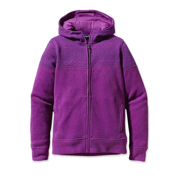 Patagonia Women's Better Sweater™ Icelandic Hoody Isle of Skye: Ikat Purple