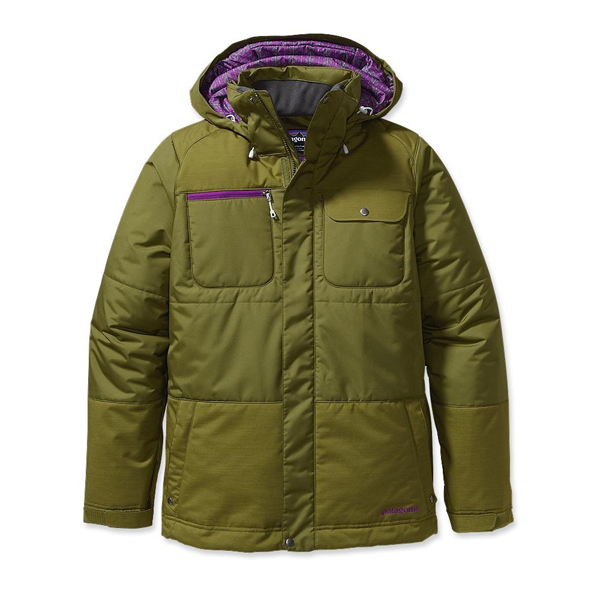 Patagonia Women's Rubicon Rider Jacket Willow Herb Green