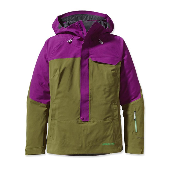 Patagonia Women's Untracked Anorak Ikat Purple