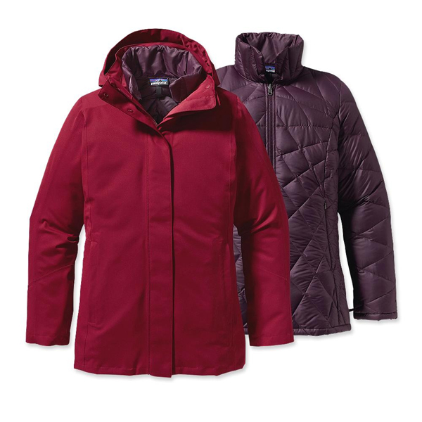 Patagonia Women's Tres 3-in-1 Jacket Wax Red