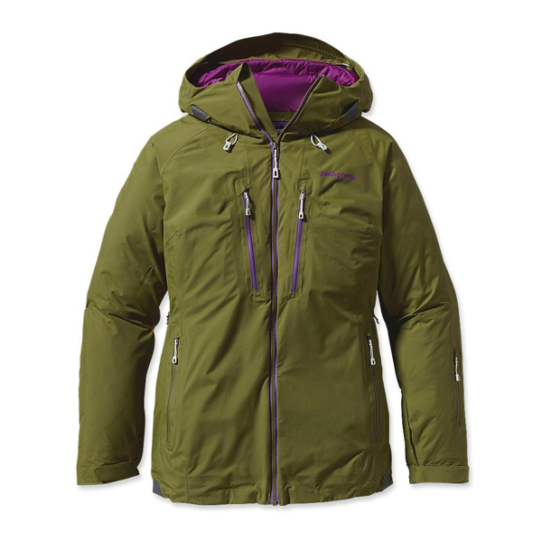 Patagonia Women's Primo Down Jacket Willow Herb Green