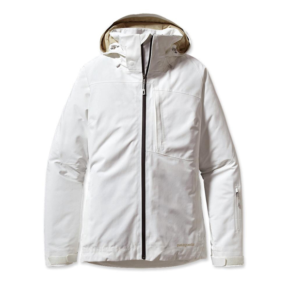 Patagonia Women's Insulated Powder Bowl Jacket Birch White