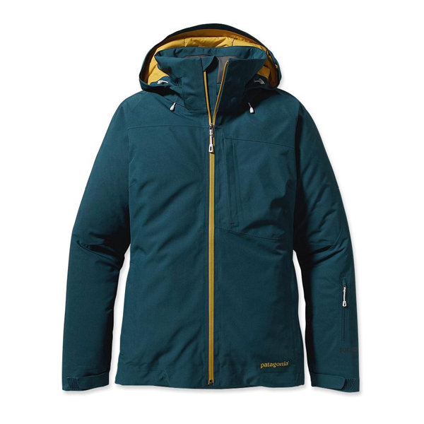 Patagonia Women's Insulated Powder Bowl Jacket Tidal Teal