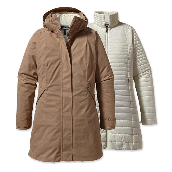 Patagonia Women's Vosque 3-in-1 Parka Woodland Tan
