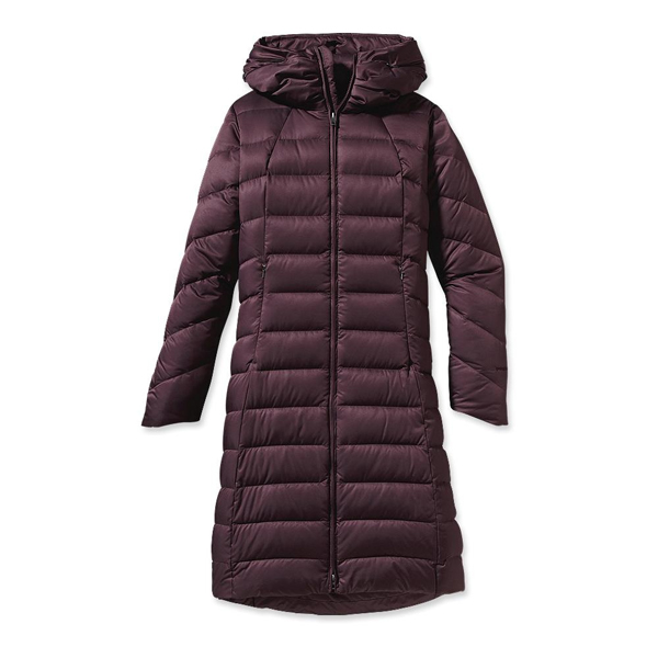 Patagonia Women's Downtown Loft Parka Whiskey Plum