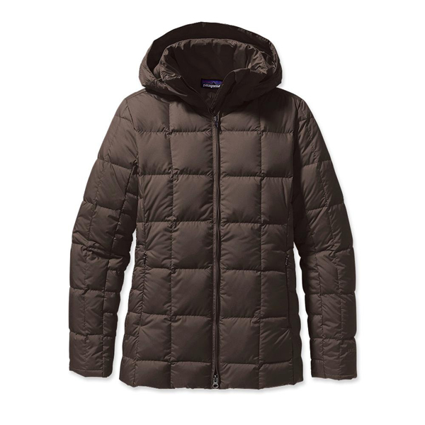 Patagonia Women's Down With It Jacket Dark Walnut