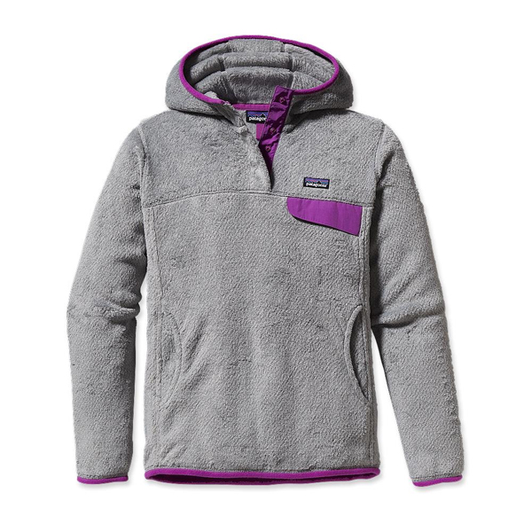 Patagonia Women's Re-Tool Hoody Tailored Grey - Nickel