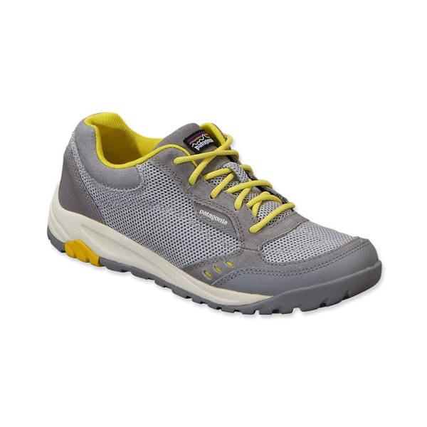 Patagonia Women's Peak Sneak A/C® Shoe Feather Grey w/Chromatic Yellow
