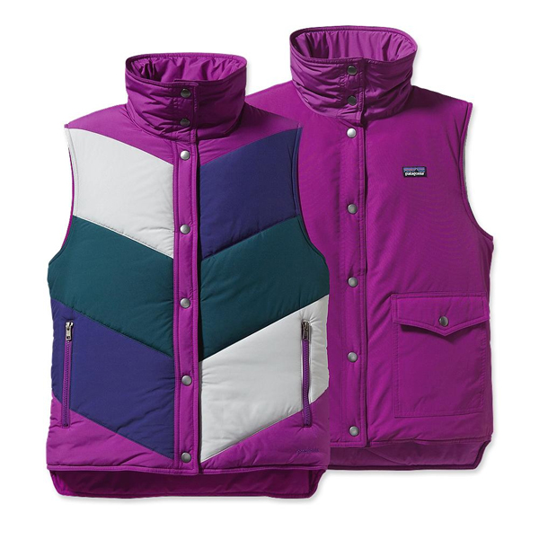 Patagonia Women's Mirror Lake Vest Ikat Purple