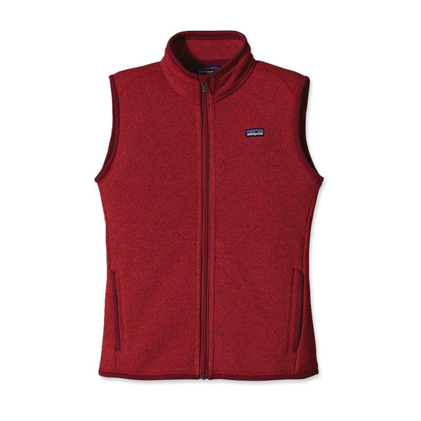 Patagonia Women's Better Sweater™ Vest Red Delicious