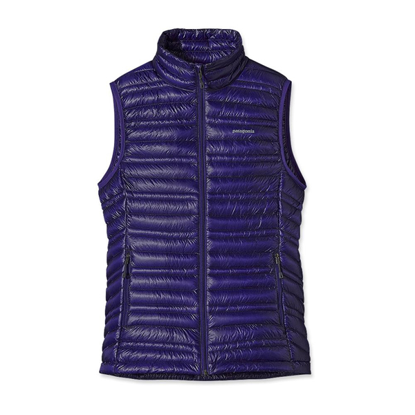 Patagonia Women's Ultralight Down Vest Blue Butterfly